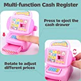 JX Toy Cash Register Shopping Pretend Play Money