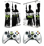 Cod Mw Vinyl Decal Skin Sticker for Xbox360 Slim with 2 Controller Skins