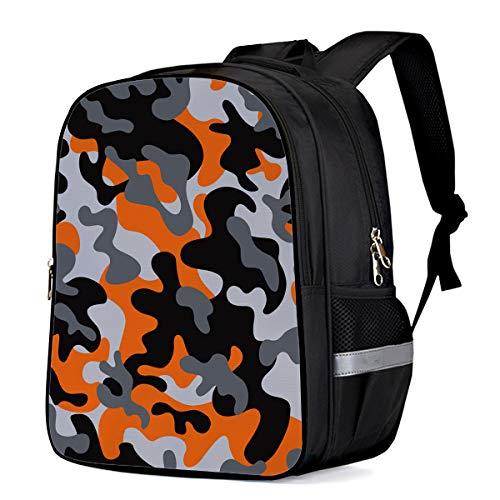 Backpack for Children/Boys/Girls Digital Camouflage Print 3D Printing Shool Book Bag Daypacks Satchel Rucksack Hiking Travel Shoulders Bag Fits Laptop- Small
