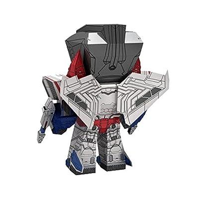 Fascinations Metal Earth Transformers Caricature Starscream 3D Metal Model Kit: Home & Kitchen