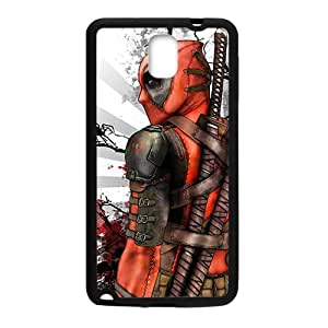 QQQO Deathlok red blood warrior Cell Phone Case for Samsung Galaxy Note3