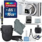 Canon PowerShot SX620 HS Digital Camera along with 16GB, Deluxe Accessory Bundle and Cleaning Kit
