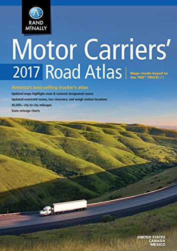 Rand McNally 2017 Motor Carriers' Road Atlas (Rand Mcnally Motor Carriers' Road Atlas) (Rand Mcnally Motor Carrier Atlas)