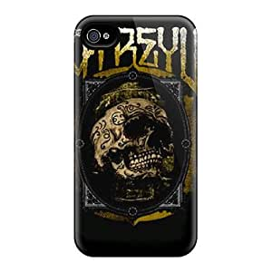 Tpu Case Cover For Iphone 4/4s Strong Protect Case - Atreyu Design by Maris's Diary