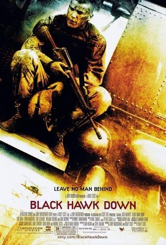 (Black Hawk Down Movie Poster 11x17 Master)
