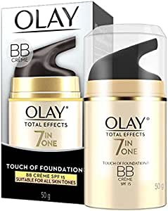 Olay Total Effects Touch of Foundation Face Cream Moisturiser SPF 15 50g
