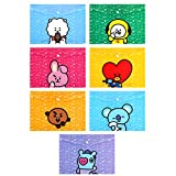 eKoi Cute Theme KPOP BTS File Folder Extra Large
