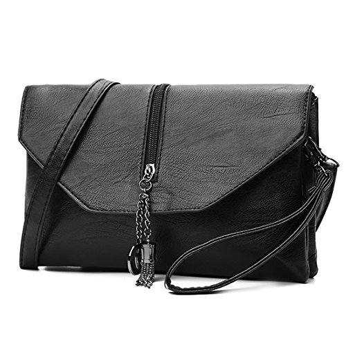 for Bag Purse Ladies Wristlet Evening Envelope Grey Shoulder Clutch Handbag Women f84ZxwBZq