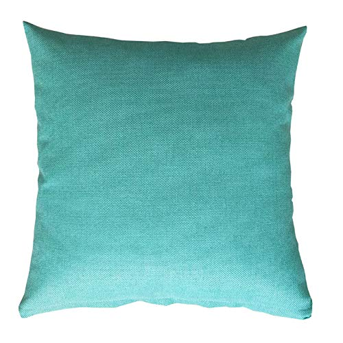 Zhiyuan Funda de cojín para sofá en línea 55x55cm, Turquesa ...