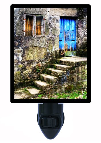 Night Light - The Blue Door - Spain - LED NIGHT LIGHT by Night Light Designs