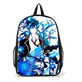 Dreamcosplay Ao no Exorcist Okumura Rin logo Backpack Student Bag