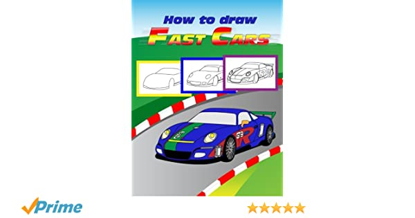 Aston Martin /& More for Beginners How To Draw A Car Drawing Fast Cars Step By Step Draw Cars like Dodge Hellcat,Buggati