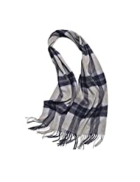 LJHA Male Autumn Scarf Warm Thick Scarves in Winter Young Young Students with Simple Scarves (6 Colors Optional) (32 * 170cm) (Color : B)