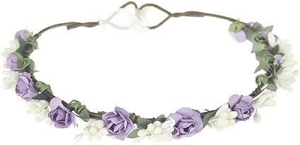 12 diadema elastica banda ajustable flor recien nacidos bebes ninas corona rosas