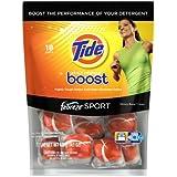 Tide Stain Release Boost Febreze Sport Unit Dose In Wash Booster, 18 Count
