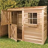 Cedarshed Shed 8 x 4 ft. Bayside Wood Storage Shed Review