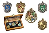 (US) Harry Potter House Crest Pin Set