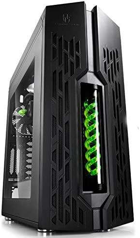 Caja Gamer Storm Genome negro/verde: Amazon.es: Electrónica