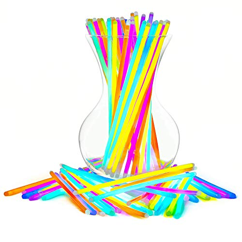 Best Halloween Treats To Hand Out - Glow Sticks Bulk Party Favors 100pk