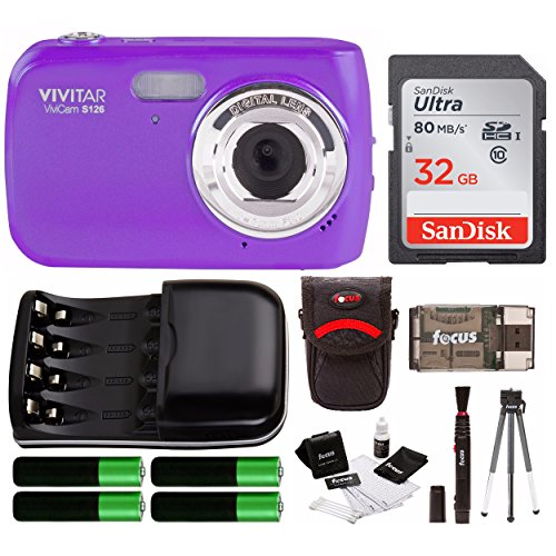 Vivitar VS126 16.1 Mega Pixel Digital Camera w/ Accessory St