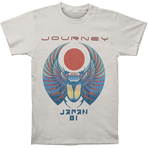 Journey Mens Japan 81 T-shirt Silver