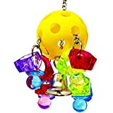 SODIAL Bird Toy Parrot Cage Cockatiels Cages African Yellow Macaw Aviary Plastic