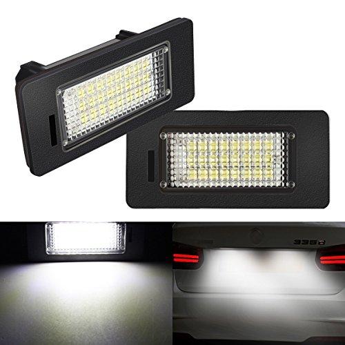 AMBOTHER Auto LED Kennzeichenbeleuchtung Nummernschilder Licht E39 E60 E70 E90