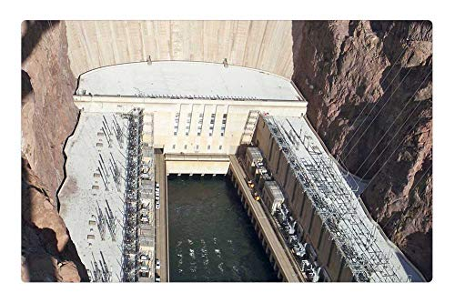 - Tree26 Indoor Floor Rug/Mat (23.6 x 15.7 Inch) - Hoover Dam Nevada Colorado River Bridge Dam Hoover