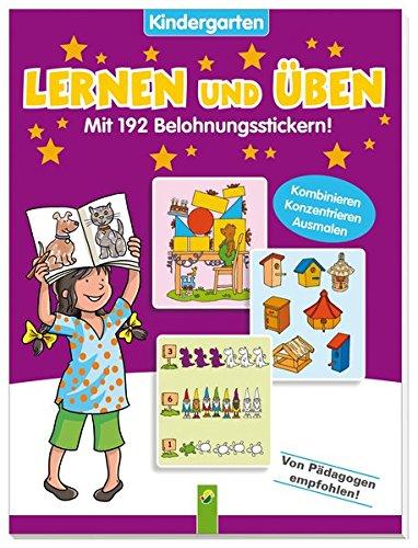 Lernen und Üben Kindergarten Band 2: Mit 192 Belohnungsstickern!