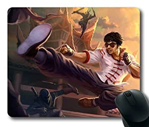 LeeSin League of Legends Game001 Rectangle Mouse Pad by eeMuse