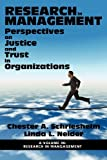 Perspectives on Justice and Trust in Organizations, Chester Schriesheim and Linda L. Neider, 1617358193