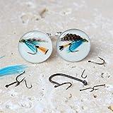Fishing Fly Cufflinks