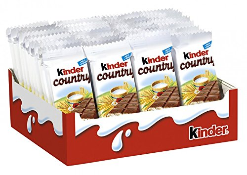 Amazon.com : Kinder Chocolate With Cereals Bars Pack Of 40 Bars ...
