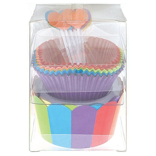 Rainbow Cupcake Kit for 24