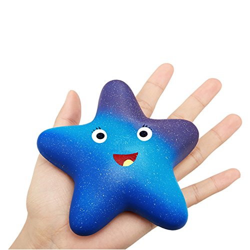 Squishy Slow Rising Stress Toys Star Super Jumbo Stress Reliever Kids Toy,decorative props Large or Stress Relief (Stress Star Reliever)