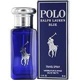 Ralph Lauren Eau de Toilette Spray for Men, Polo Blue, 1 Ounce