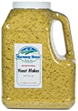 Harmony House Foods Nutritional Yeast Flakes (36 Oz Gallon Size Jug)