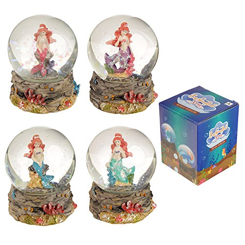 Mermaid Waterball Snow Globe Puckator