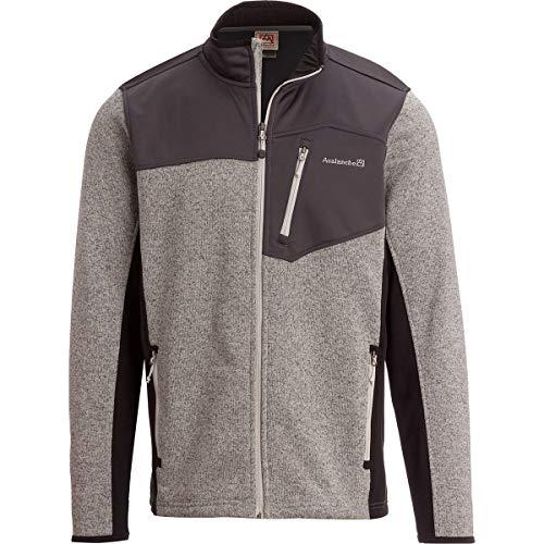 - Avalanche Full-Zip Fleece Sweater - Men's Lunar Rock, L