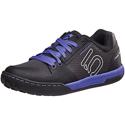 Five Ten Women's Freerider Contact MTB Bike Shoes, Split Purple, 7.5