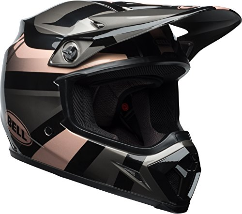 Bell MX-9 MIPS Off-Road Motorcycle Helmet (Gloss Copper/Black Marauder, XX-Large)