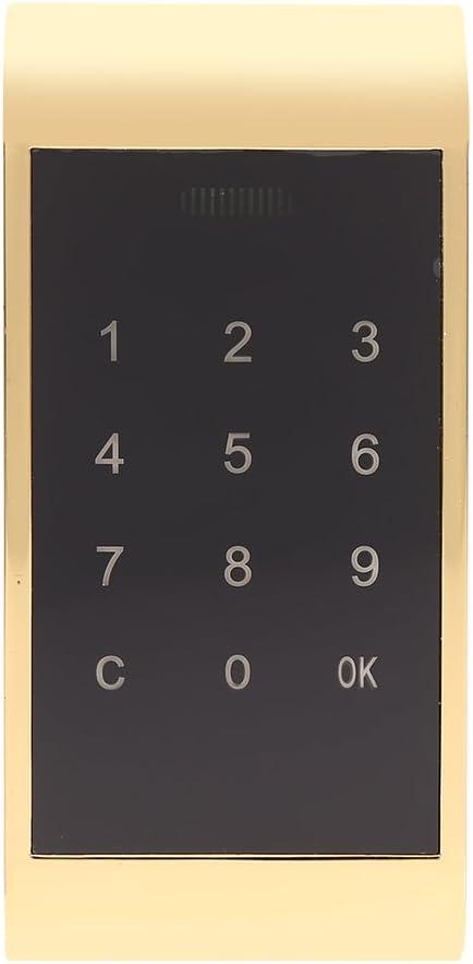 Yosoo Cadenas Tactile sans cl/é Serrure Clavier Armoire de s/écurit/é /électronique en Alliage Zinc pour Armoire Placard Bureau Maison avec Accessoires 11.5 Silver 5.35cm