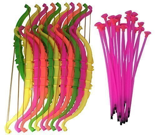 Gingerscoolstuff Bow and Arrow Kids Archery Sets. Sporting Goods - Party Favors