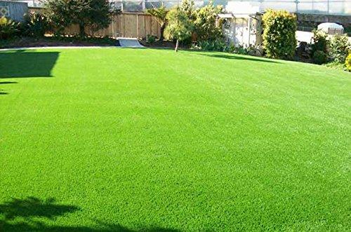 Wide Blade Grass (Synturfmats 3'x5' Artificial Grass Carpert Rug - Premium Indoor / Outdoor Green Synthetic Turf, 4-Toned Blades)