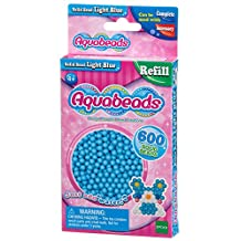 Aquabeads AB32558 Solid Beads Refill Pack, Light Blue