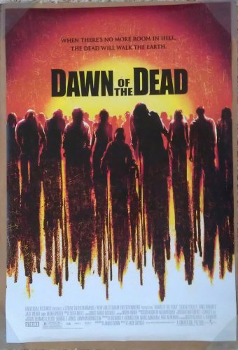 Evident to OF THE DEAD MOVIE POSTER 2 Sided ORIGINAL FINAL 27x40 ZACK SNYDER