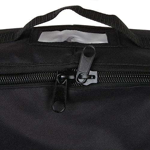 Full Size Car Seat Travel Bag - Black Carseat Carrier and Car Seat Bag for Airplane by Hope and Kisses (Image #6)