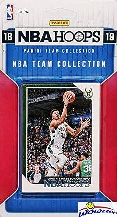 deb18956 Milwaukee Bucks 2018/2019 Panini Hoops NBA Basketball EXCLUSIVE Factory  Sealed Limited Edition 9 Card