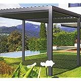 NAO Pergola bioclimatique clásica 4 m x 3 m: Amazon.es: Jardín