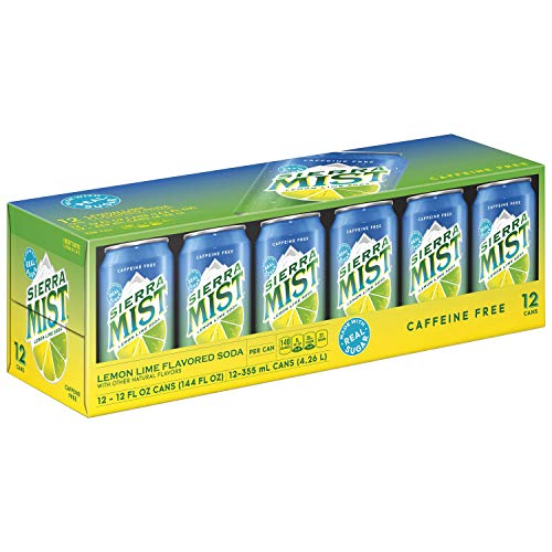 Sierra Mist, Lemon Lime Soda, 12 Count, 12oz Cans (Packaging May Vary)